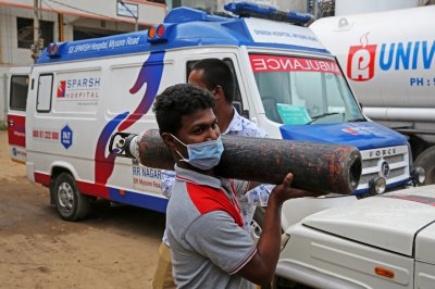 At least 22 COVID-19 patients die after oxygen leak at India hospital