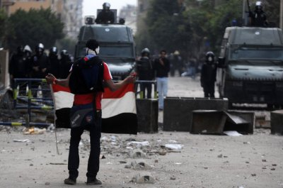 Boy dead, dozens injured in Egypt protests