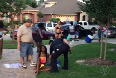 Texas grand jury clears officer who threw teen to ground, pulled weapon