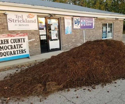 Load of manure dumped at Warren County Democratic headquarters in Ohio