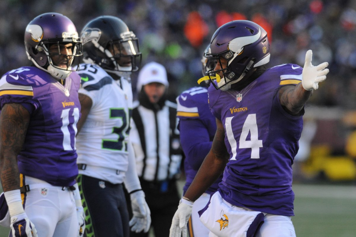 Fantasy Football Stefon Diggs returns to Minnesota Vikings UPI