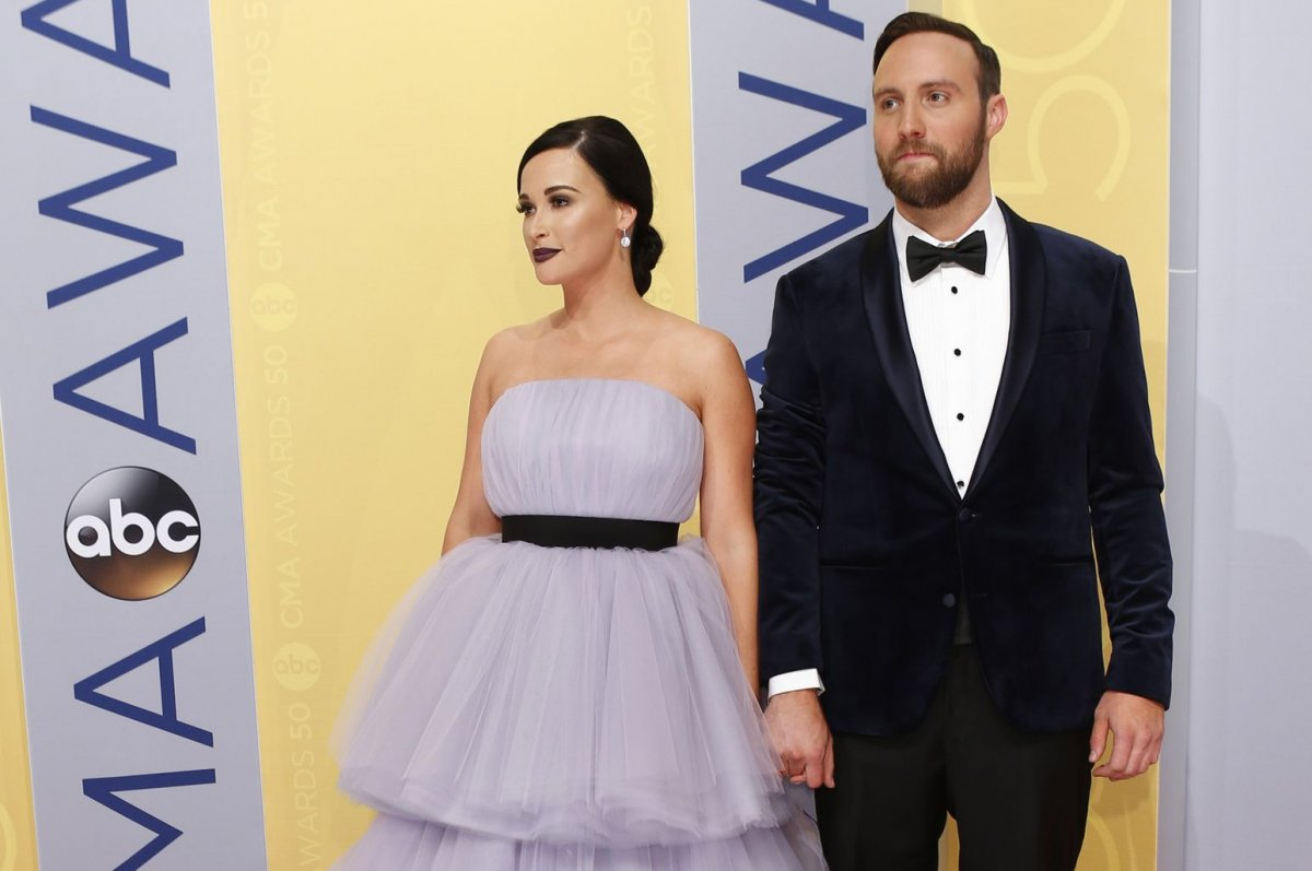 Newly wed husband and wife: Ruston Kelly and Kacey Musgraves