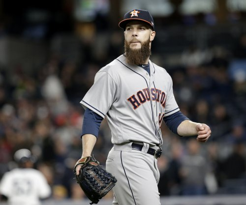 Houston Astros place ace Dallas Keuchel (neck) on disabled list with pinched nerve