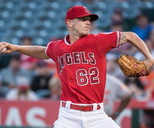 Parker Bridwell pitches Los Angeles Angels past former team, Baltimore Orioles