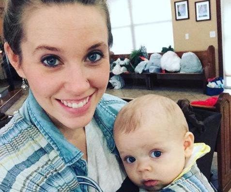 Jill Duggar posts photo with 'cuddle baby' son Samuel