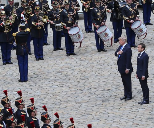 Democrats seek to block funding for Trump military parade