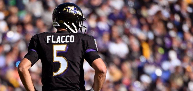 low priced 0a391 48fa3 Denver Broncos' Joe Flacco on Drew Lock: 'I'm not worrying ...