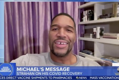 Michael Strahan 'doing well' amid recovery from COVID-19