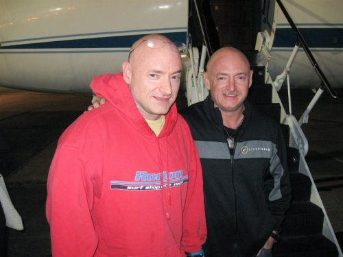 Twins to take part in research into human effects of spaceflight