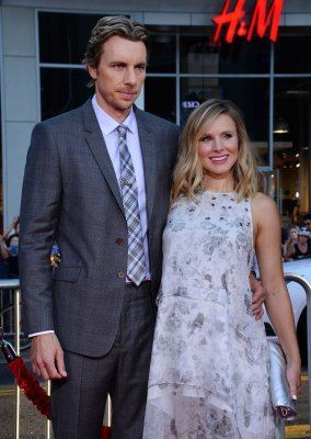 Dax Shepard debuts new Kristen Bell-inspired tattoo at film premiere