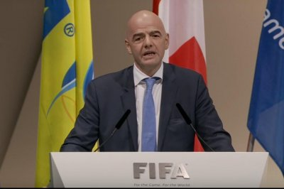 FIFA elects Infantino as new president