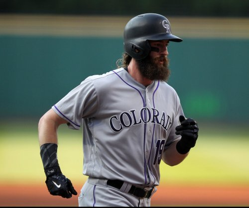Colorado Rockies blast three homers in win over Milwaukee Brewers