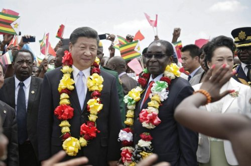 China's military met with Zimbabwe army chief before coup
