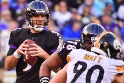 Ravens QB Joe Flacco (hip) misses practice again