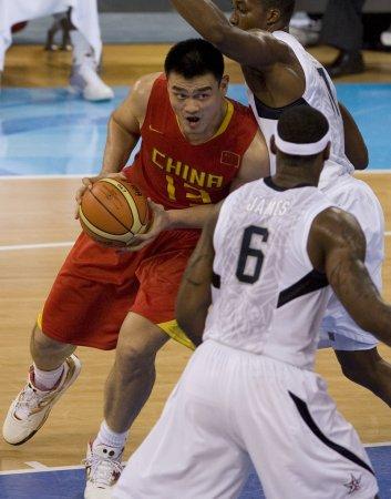 USA defeats China in basketball opener