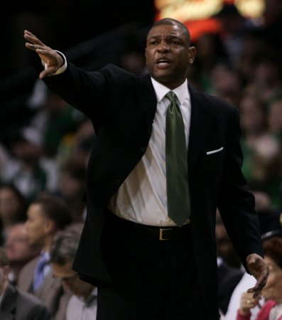 Celtics, Rivers unveil contract extension