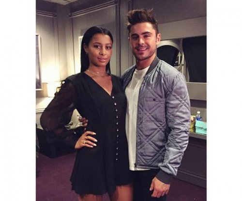 Zac Efron, girlfriend Sami Miro attend MTV Movie Awards