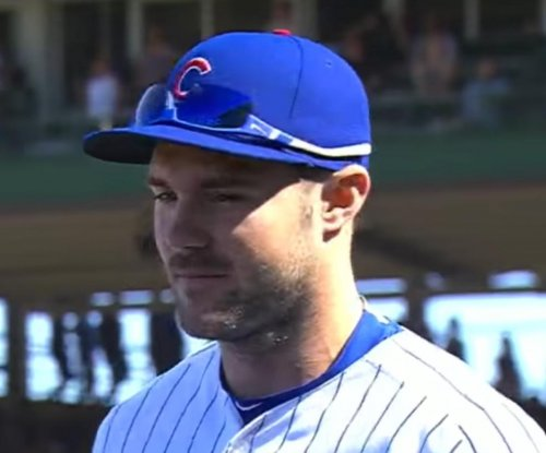 Matt Szczur scores on wild pitch as Chicago Cubs rally past Miami Marlins