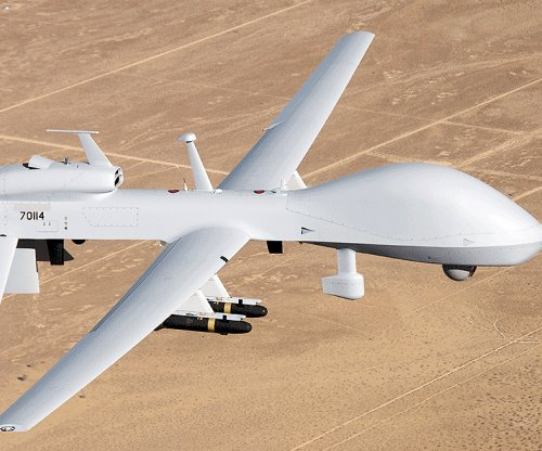 China warns United States after Gray Eagle drone deployment