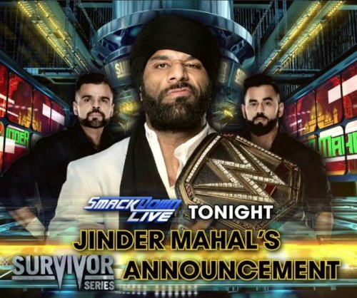 WWE Smackdown: Jinder Mahal challenges Brock Lesnar to a match