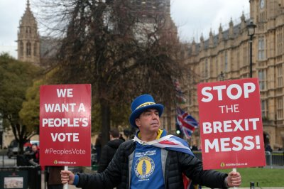 Theresa May denies looming possibility of second Brexit referendum