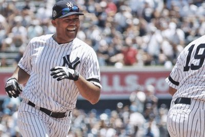 Watch: Yankees legend Mariano Rivera hits inside-the-park homer on Old-Timers' Day