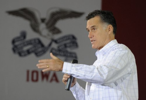 Romney reads Letterman top 10