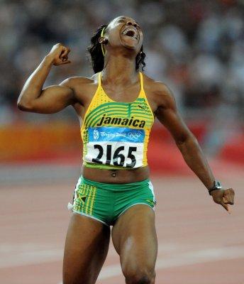 Jamaicans sweep women's 100