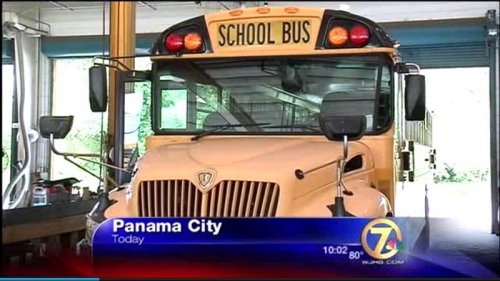 Florida boy in trouble after taking school bus for joyride to Walmart