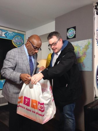 Al Roker aims sky high for record weather forecast