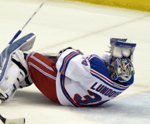Henrik Lundqvist's status after eye injury uncertain