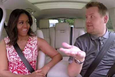 Michelle Obama joins James Corden for special edition of Carpool Karaoke