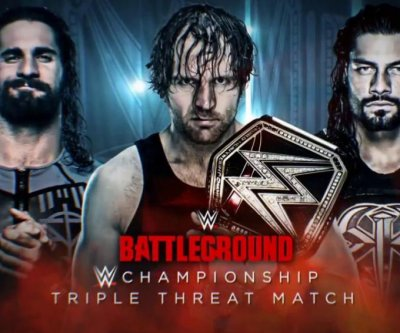 WWE Battleground: Dean Ambrose battles former Shield partners, Bayley debuts