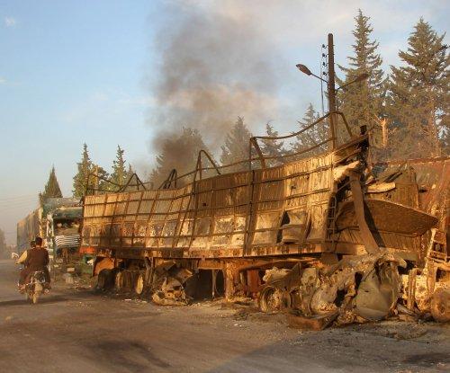 Russia denies responsibility for attack on Syria aid convoy; U.N.'s Ban decries strike