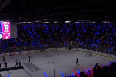 Lightsaber battle record unofficially broken at Michigan hockey game