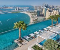 World's highest infinity pool is nearly 1,000 feet off the ground