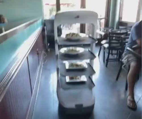 California restaurant hires robot to offset worker shortage
