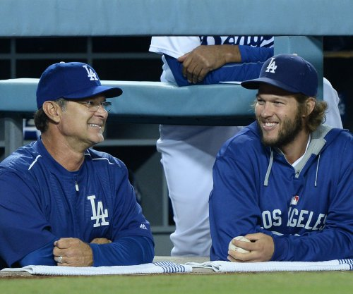Clayton Kershaw jaws at Don Mattingly in Los Angeles Dodgers' win