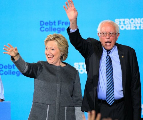 Sanders appears with Clinton in potentially key N.H.; first lady stumps in Philly, Pitt