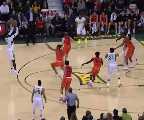 No. 2 Baylor pulls out win over Oklahoma State