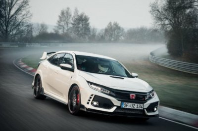 Honda Civic captures speed record at German track