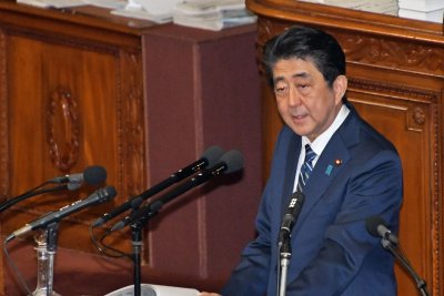 Abe: New U.S. base on Okinawa will be built, despite voters' rejection