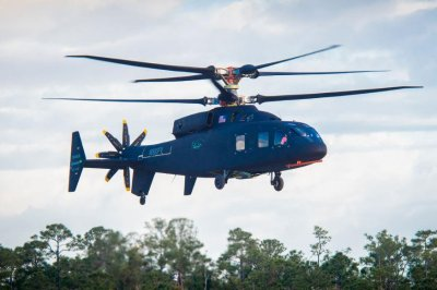 Sikorsky-Boeing's SB-1 'Defiant' battlefield helicopter makes first flight