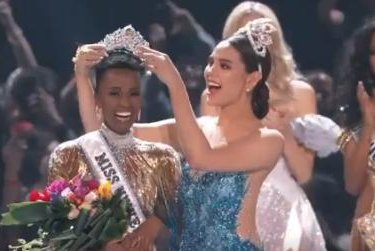 Zozibini Tunzi of South Africa wins Miss Universe 2019
