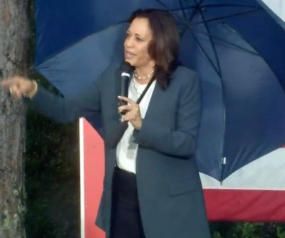 Kamala Harris says Florida voters will decide election during campaign stop