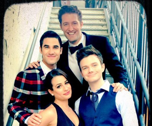 Lea Michele shares photos on set of 'Glee' series finale