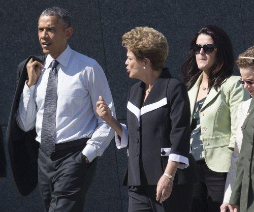 Brazil's President Rousseff visits U.S. with economic, environmental agenda