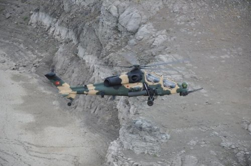 TAI completes delivery of helicopters to Turkish Army