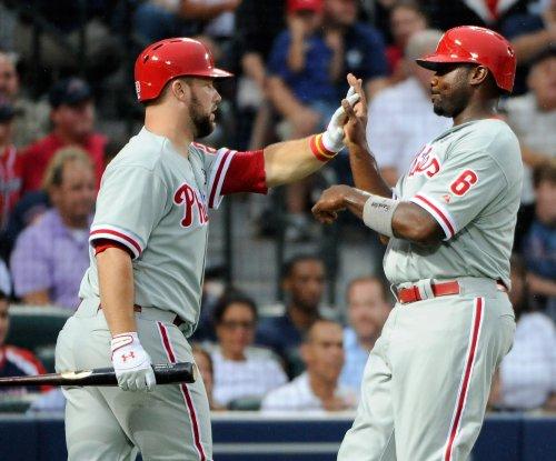 Cameron Rupp gets key hit in Philadelphia Phillies' 10-inning win