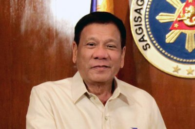 Philippines' Duterte: 'Only China can help us'